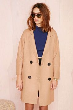 BLQ Basiq Tastemaker Coat | Shop Jackets + Coats at Nasty Gal