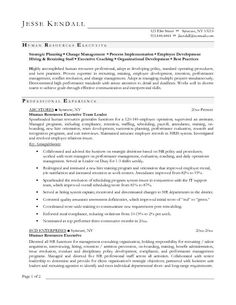 Resume Resume Sample Hr Executive sample resume for jobstreet template pinterest human resources executive samples