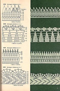 These free crochet tips are always helpful to use in dish towels, napkins or even in swaddling babies or crochet fronhas. Nozzle, as we call it, was the. Crochet Edging Patterns, Crochet Lace Edging, Crochet Quilt, Crochet Borders, Crochet Chart, Crochet Patterns Amigurumi, Irish Crochet, Crochet Designs, Crochet Stitches