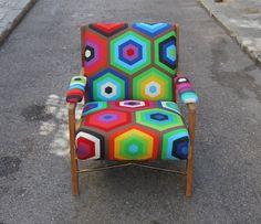 escandinavo tapizada aire escandinavo sofas butacas butacas tapizadas loneta multicolor mueble muebles es butaca de sillas