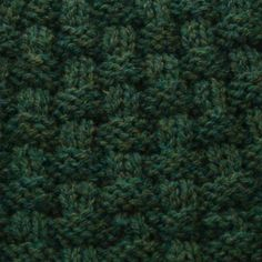 Basket weave knit for beginners
