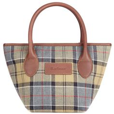 Barbour Ladies Tartan Tote Bag