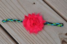 Braided Shabby Chic Headband by daintydetailsky on Etsy, $8.00
