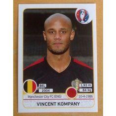 Football Soccer Sticker Panini UEFA Euro 2016 #467 Belgium
