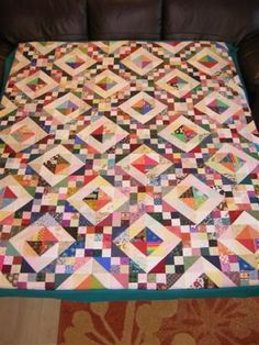 jacob's ladder quilt | Found on quiltingboard.com