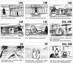 Van Dyke's Storyboards. Sketches. Projects.: More Storyboards 2012