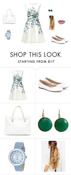 """""""Untitled #28"""" by sara-tadic-1 ❤ liked on Polyvore featuring ERIN Erin Fetherston, Chloé, Sole Society, Blue Candy Jewelry, Crayo and Johnny Loves Rosie"""