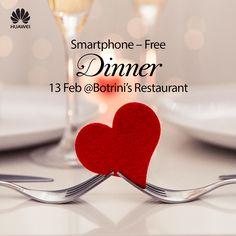 Διαγωνισμός Huawei Mobile Greece - Θέλεις ένα ρομαντικό δείπνο στο βραβευμένο εστιατόριο Botrini's Restaurant; https://getlink.saveandwin.gr/aR2