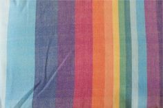 a2891be8d39 Girasol Double Rainbow  cream  Twill exclusive woven wrap Baby Carriers