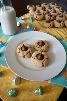 peanut butter blossoms | The Baking Fairy