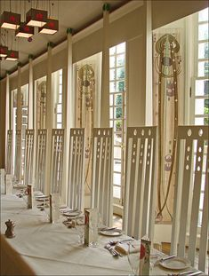 Le salon de musique (House for an art lover, Glasgow)  Scotland - Charles Rennie Mackintosh