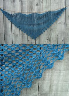 Crochet Shawl, from a Japanese pattern