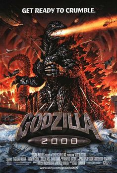 Godzilla 2000 Is A Japanese Sci-fi Action Kaiju Film That Was Filmed In Japan And Was A Reboot Of The Godzilla Franchise. Godzilla 2000 Is The… Wall Prints, Poster Prints, Internet Movies, Fantasy Movies, King Kong, Shiro, The Villain, Movie Posters, Free