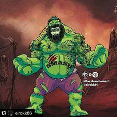 Hulk Comic Book Characters, Comic Books, Hulk Artwork, Planet Hulk, Hero World, Hulk Smash, Incredible Hulk, Types Of Art, Comic Art