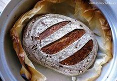 Selský chléb se sádlem – z 50% celozrnný – Vůně chleba Bread And Pastries, Kefir, Bagel, Desserts, Food, Tailgate Desserts, Deserts, Essen, Dessert