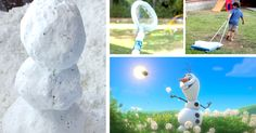 We have some great ideas for how to throw a Disney Frozen Party in Summer including DIY Snow, Snow Cones, Ice Block Races and more!