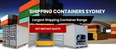 Buying a is easy from Shipping Containers Sydney. As favourite we sell and new and for transporting your by sea, rail or truck. Get instant quote!