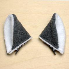 Wolf Ear Hair Clips at shanalogic.com