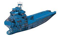 Hull structure design (Courtesy of Wärtsilä)