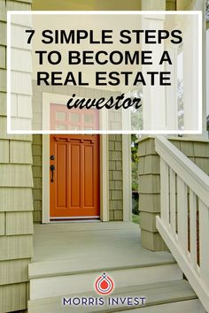 7 simple steps you can use in order to purchase your first rental property, grow your portfolio, and become a successful real estate investor! #realestatetips