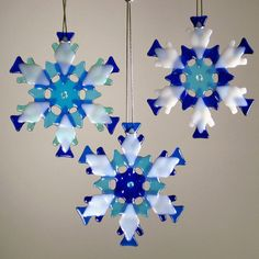 Snowflake Ornament/Sun Catcher by Charlotte Behrens