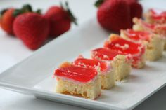 Strawberry Shortcake Jello Shots » That's So Michelle