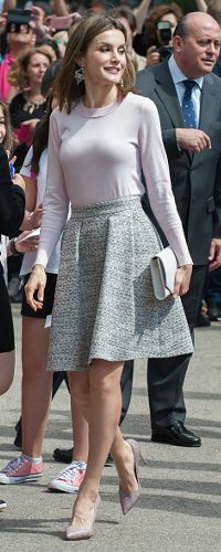 27 May 2016 - Queen Letizia attends 75th Madrid Book Fair. Click to read more