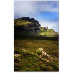 Trademark Fine Art Old Man of Storr Canvas Art by Philippe Sainte-Laudy, Size: 22 x 32, Multicolor
