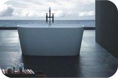 Kylpyamme ST01 Corner Bathroom Vanity, Small Bathroom Vanities, White Bathroom, Bathtubs For Sale, Outdoor Bathtub, Stone Bath, Space Cowboys, Cast Stone, Bath Time