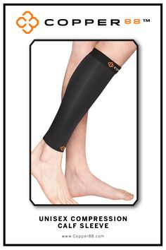 Available from XS- XXL, this Compression Calf Sleeve is the only in the world to have 88% copper embedded in it's fiber composition.The compression supports your muscles and joints aiding in faster recovery time.Comfortably worn during exercise, rest and in the shower.Super-fast wicking keeps garments dry Antibacterial and anti-odour properties will keep you feeling and smelling fresh. Copper88™ fabric attributes are inherent in all our garments and will last for as long as you own our…
