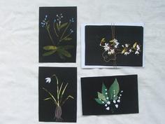 paper garden postcard set by tiny happy