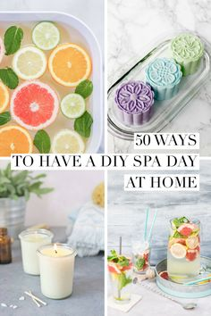 Enjoy a DIY spa day atom home with some of your favorite experiences - like a warm foot bath or a deep cleansing face mask. day at home for kids face masks 50 Ways to Have a DIY Spa Day at Home Diy Spa Day, Spa Day Party, Spa Day At Home, Body Spa At Home, Girl Spa Party, Spas, Deep Cleansing Face Mask, Spa Tag, Spa Night