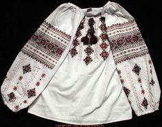 Handmade Ukrainian hand embroidered women's blouse #06-4119 from Western Ukraine, sold on AllThingsUkrainian.com