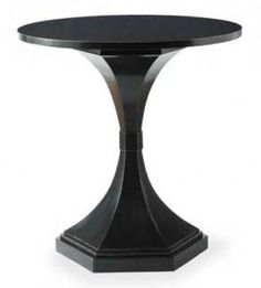 Transitions round lamp table