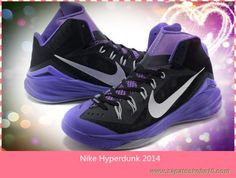 timeless design 736b5 acb1b Masculino 653640-005 Nike Hyperdunk 2014 Preto   hiper Grape