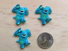 Monsters Inc James Silli Inspired Flat by SuppliesAndCraft4you