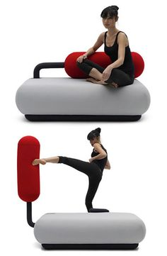 Why Scream Into A Pillow When You Can Punch A Sofa?