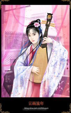 Ancient Chinese valiant 1 by hiliuyun on DeviantArt Asian Artwork, Fantasy Art Women, Ancient China, Fantastic Art, Chinese Art, Japanese Art, Female Art, Graphic Illustration, Anime Art