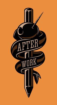 AFTER WORK | illustration by Javi Bueno, via Behance