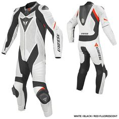 Dainese Laguna Seca Evo. Size 98. The one piece suit that fits me properly. Lengthwise. So I took it.