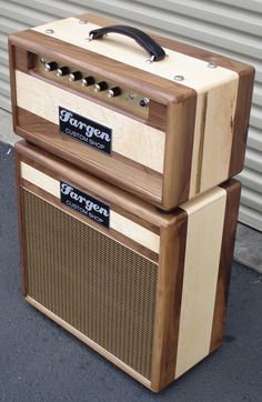 Fargen Custom Shop plexi clone amp in walnut.