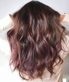 Chocolate Mauve via @AOL_Lifestyle Read more: http://www.aol.com/article/lifestyle/2016/12/23/biggest-hair-color-trends-2017/21641196/?a_dgi=aolshare_pinterest#fullscreen