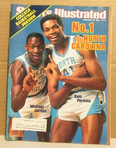 Sports Illustrated November 28 1983 Michael Jordan 1st Cover Ncaa Basketball | eBay
