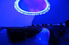 State-of-the-art 5D theater attraction at the Tonguan Kiln International Cultural and Tourism Center in Changsha, CN.