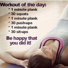 Workout For Everyday