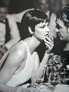 Harper's Bazaar - She was the kind of dame - Linda Evangrlista - Avr 1995