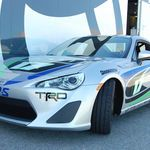 We got to drive the Scion FR-S Pro/Celebrity race car before the stars. Find out what we think of it here.
