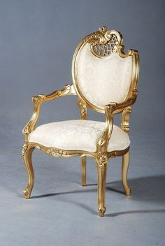Elegant Baroque Chair. Neo Rococo Chair abailale at Dutch Connection