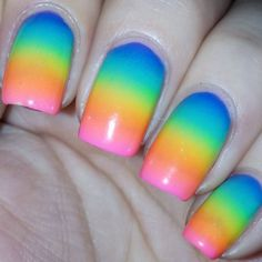 Awesome Sponge Nail Art 2017