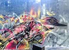 Frenetic Spray painted Birds by L7m